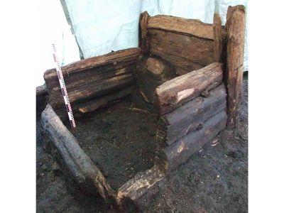 A 14th-century latrine in Riga, Latvia