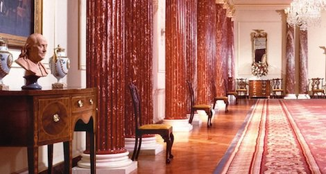 Get a virtual (and sign up for a real) tour of the State Department's Diplomatic Reception Rooms.