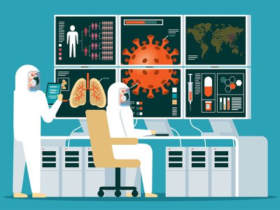 Artificial Intelligence has been used to help caregivers focus on patients most at-risk, sort threats to patient recovery and foresee spikes in facility needs for things like beds and ventilators.