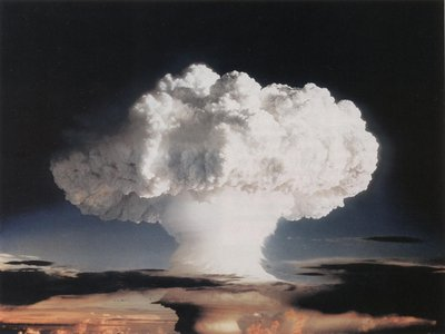 Einsteinium was first created in 1952 in the aftermath of the first hydrogen bomb test on the island of Elugelab, which is now a part of the Enewetak Atoll in the Marshall Islands, located in the Pacific Ocean.
