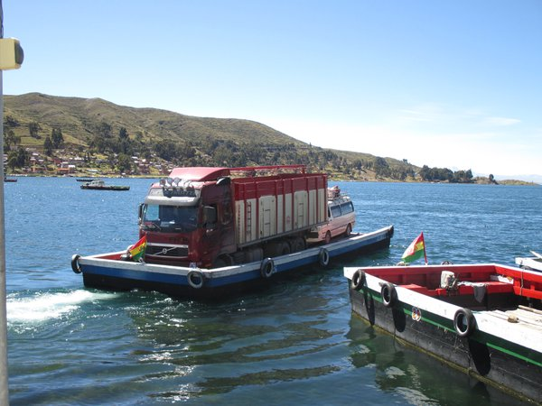 Bus Transported on a Raft thumbnail