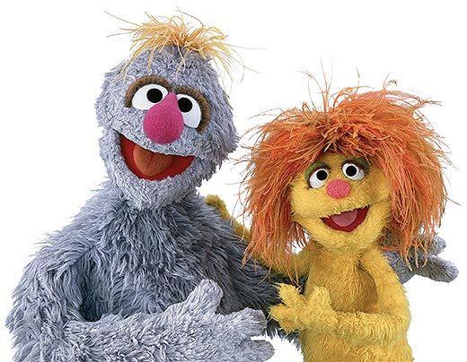 Tonto and Jordan Sesame Street