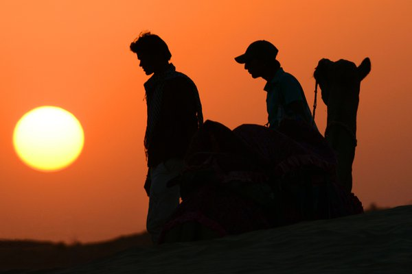 EVENING IN SAM SAND DUNES-RAJASTHAN-2 thumbnail