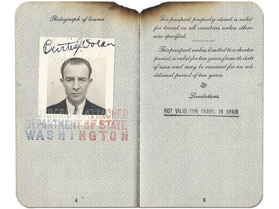 A Hindenburg Passenger Ticket, Possibly the Only One to Still Exist, Goes On View