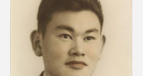 One of the new portraits of Fred Korematsu, circa 1940