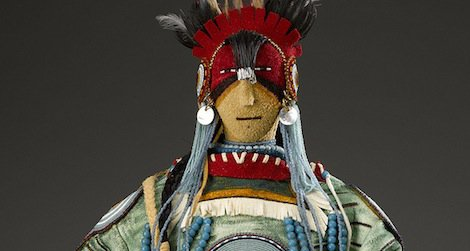A Native doll by Juanita and Jess Rae Growing Thunder
