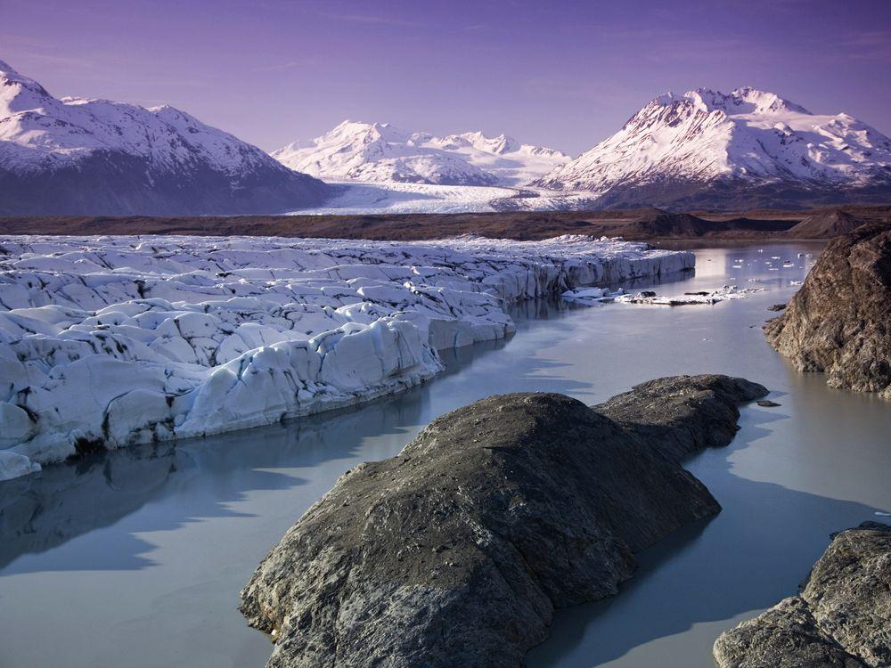 Knik & Colony Glacier