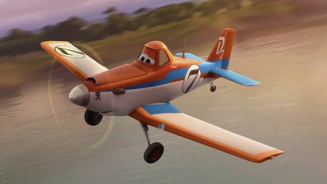 Disney's Dusty Crophopper—the Little Airplane that Could—Comes to the Smithsonian