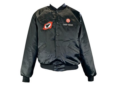 The family of Cesar Chavez donated this jacket to the National Museum of American History shortly after the labor leader's death.