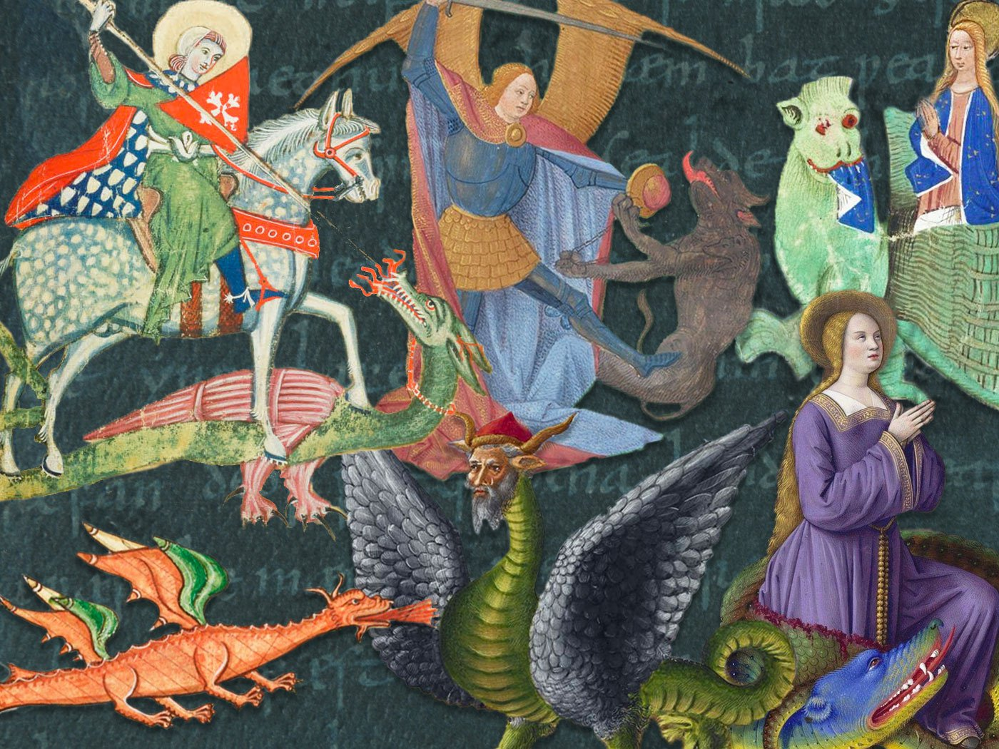 Why Dragons Dominated the Landscape of Medieval Monsters