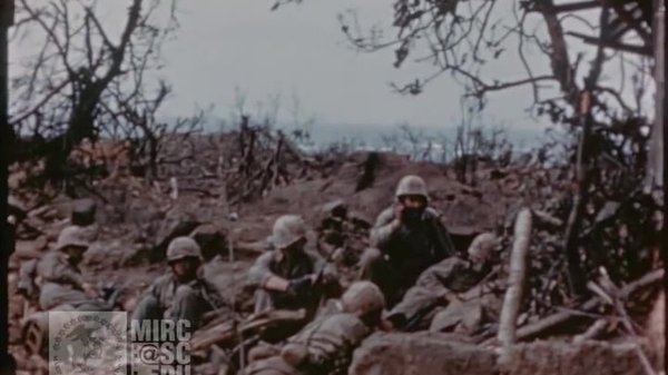 Preview thumbnail for U.S. Marine Corps Footage: Marines in the Field at Iwo Jima