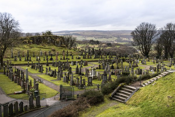Old Town Cemetery near Stirling Castle thumbnail