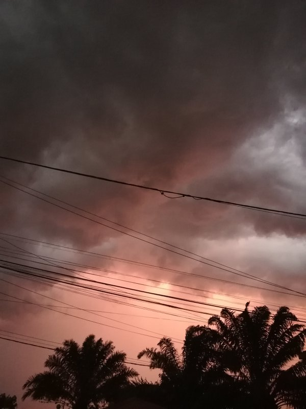 Clouds before the rain  thumbnail