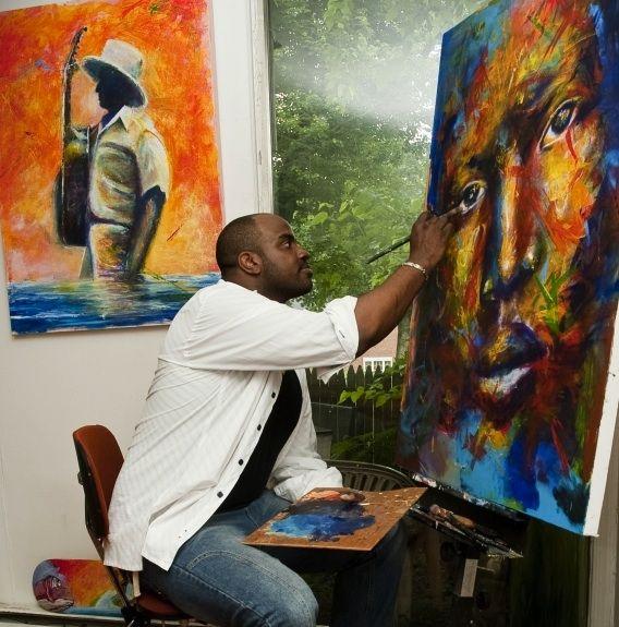 Local artist Jay Coleman