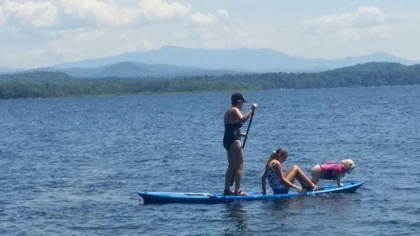 Family paddle boarding thumbnail