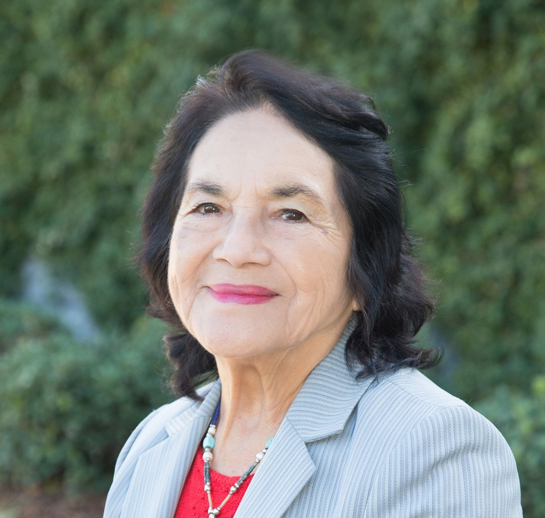 Civil Rights Icon Dolores Huerta Offers Advice to a New Generation of Activists