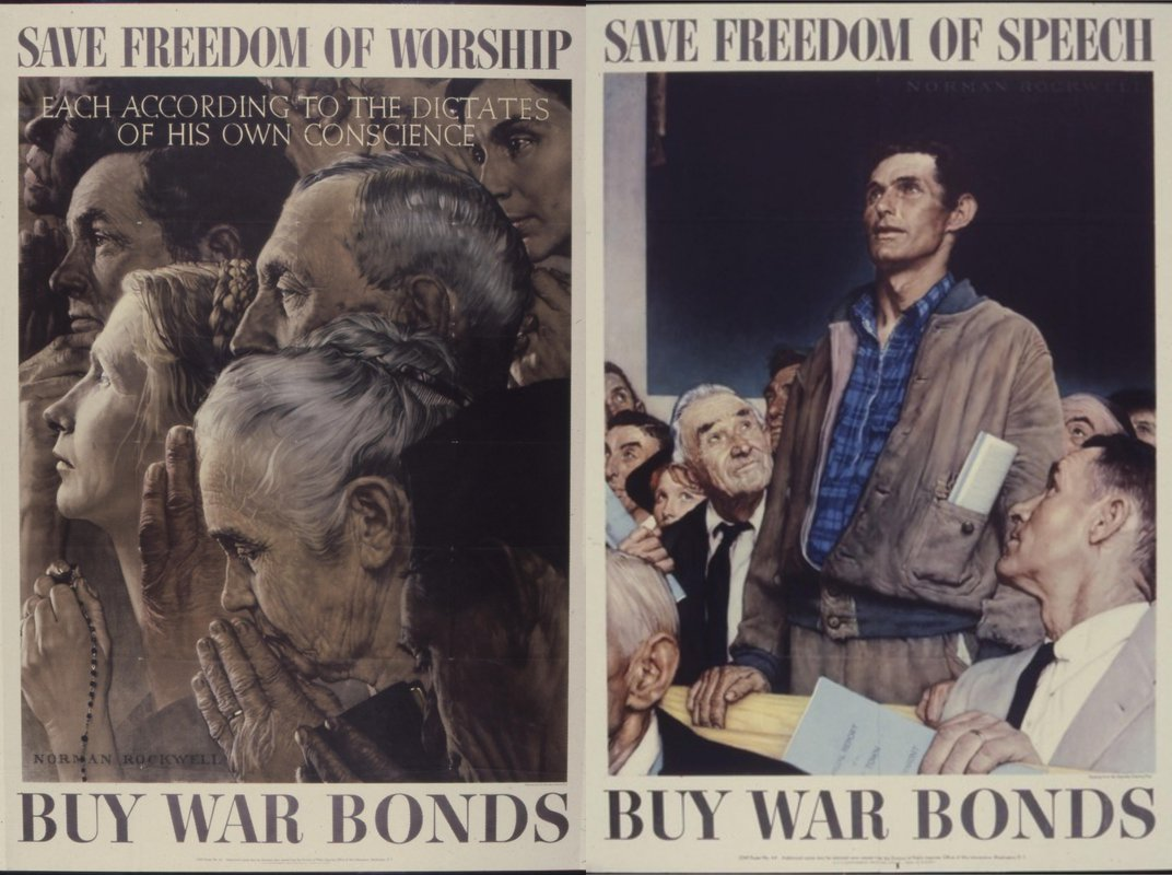 Norman Rockwell's <i>Four Freedoms</i> Brought the Ideals of America to Life