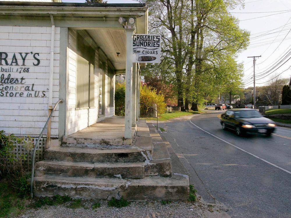 Gray's general store in Little Compton, Rhode Island