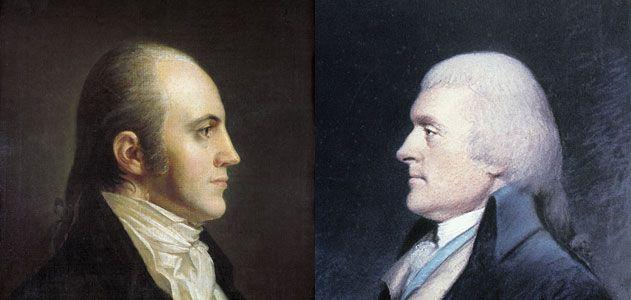 Thomas Jefferson and Aaron Burr