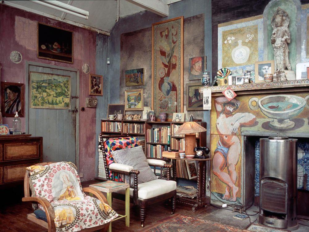 Duncan Grant's studio, Photo credit Tony Tree.jpg