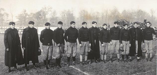 Carlisle Indian School football squad