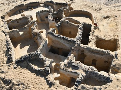 The site is comprised of six sectors, the last of which was recently excavated.