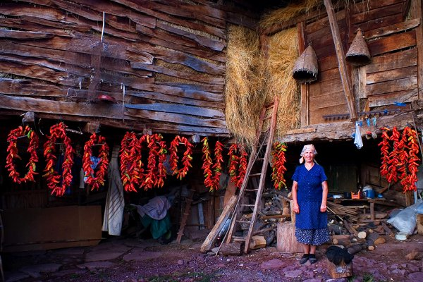 Housewife from village Toli Do in Serbia 2008. thumbnail