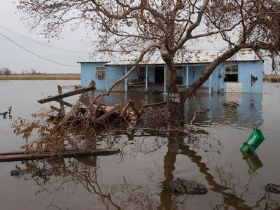 The residents and tribal members of Isle de Jean Charles are the first federally-funded community to be moved because of environmental degradation and displacement.