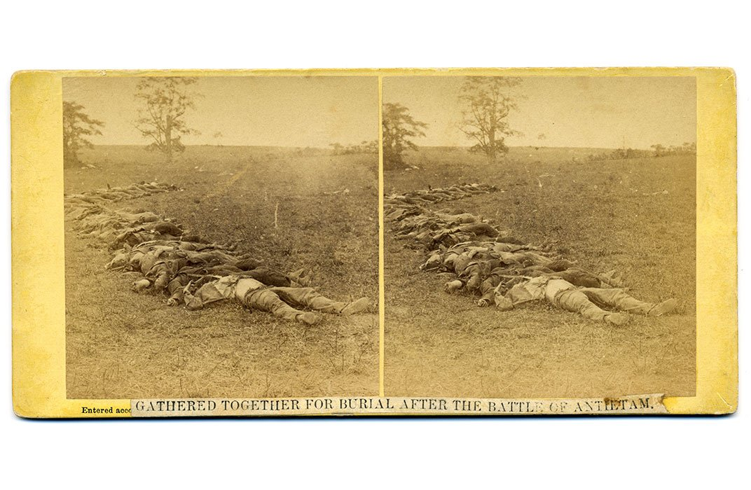 Vivid Images of Civil War Casualties Inspire a Scholar's Inner Muse