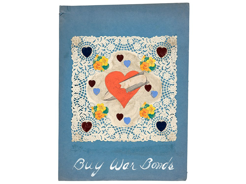 Buy war bonds, 194-, Charles Green Shaw, artist. Charles Green Shaw papers, 1874-1979, Archives of American Art, Smithsonian Institution.