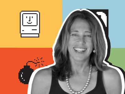 """Susan Kare designed pictorial symbols that enabled non-technical users to operate a computer, a great contrast to previous screens with """"command line"""" interfaces that required knowing code."""