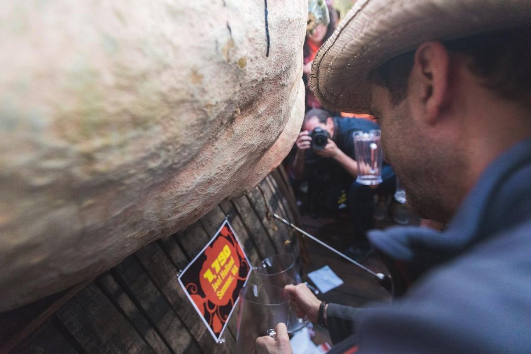 How Elysian Brewing Company Turns a 1,790-Pound Pumpkin Into a Keg