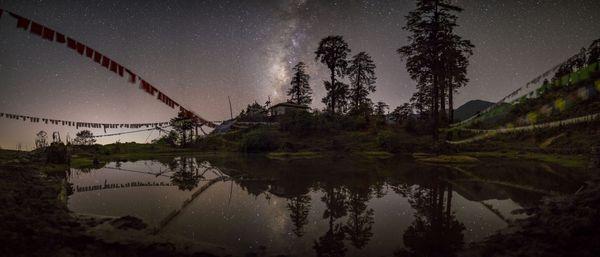 Milky Way over Tshoka Monastery thumbnail