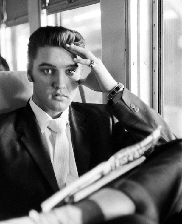 Elvis on the Southern Railroad between Chattanooga and Memphis