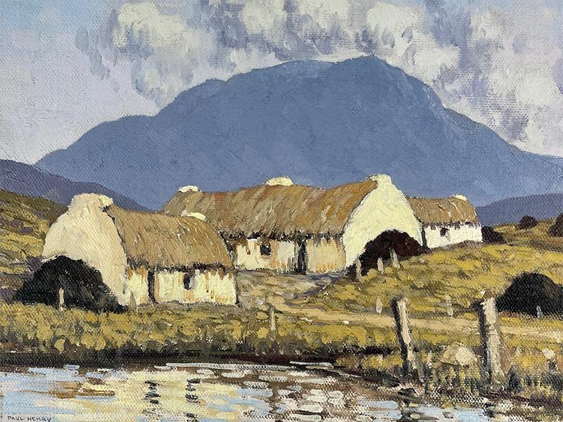 Close-up view of untitled Connemara landscape