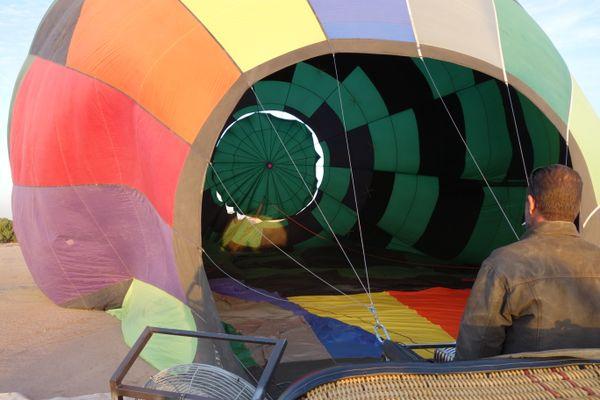 Balloon launch in Ariona thumbnail