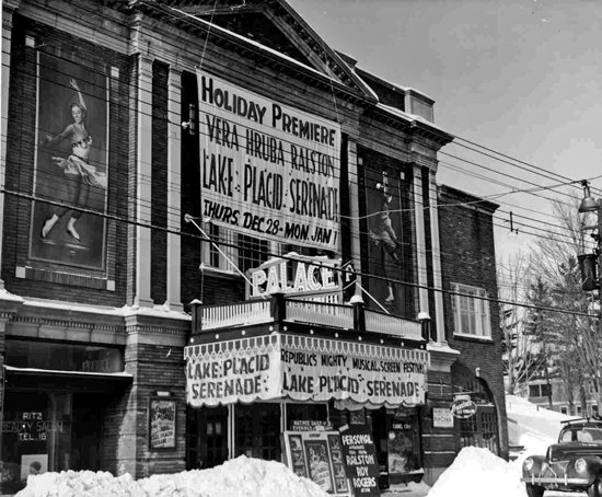 Classic Movie Theaters: The Palace, Lake Placid, New York