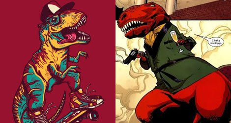 Best/Worst dressed dinosaurs