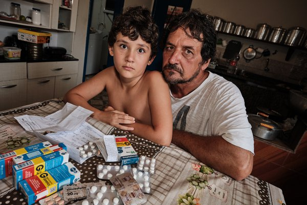 Farmer Marino and his son were healthy before the mining dam break 5 years ago thumbnail