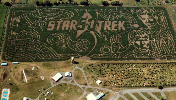 From Star Trek to Killer Baby Unicorns, Five Over-the-Top Themed Corn Mazes to Visit This Fall