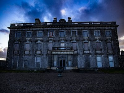 The 22-bedroom County Wexford estate sits on 63 acres of land.