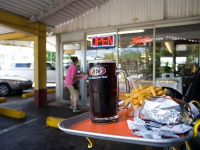 Even the approximately 60 A&W Restaurants nationwide that already offer carhop services are seeing an increase in business.