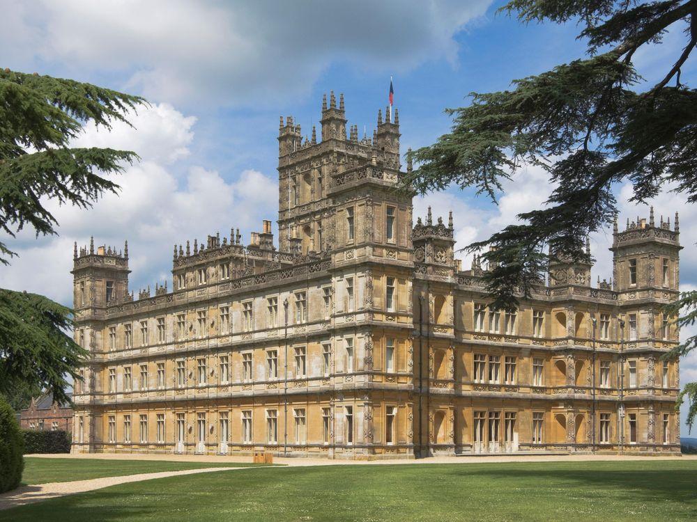 Downton Abbey Exterior
