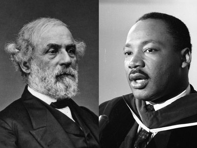 Some states still celebrate the birthdays of Robert E. Lee, the Confederate general, and Rev. Dr. Martin Luther King, Jr., on the same day.