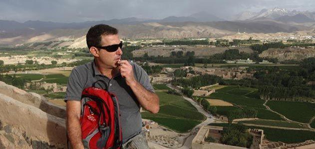 Joshua Hammer in Bamiyan