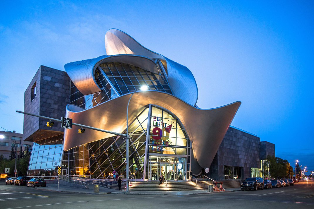 New Study Offers Clues to Dominance of Curve-Filled Museum Designs