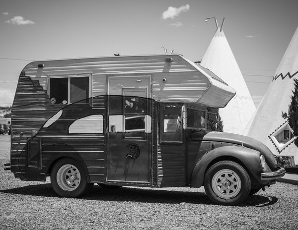 Creative Ride at the Wigwam Motel in Holbrook, AZ on Route 66 thumbnail