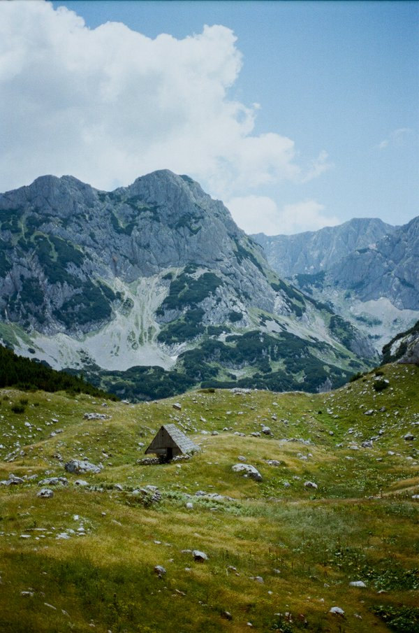 An abandoned shed on Durmitor thumbnail