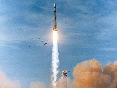 On December 21, 1968, Apollo 8 launched from Kennedy Space Center at 7:51 a.m. EST with Frank Borman in command. His crew became the first humans to ride the mighty Saturn V rocket, breaking the bonds of Earth's physical pull and entering the gravitational field of another celestial body.