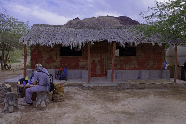 Demon cafe in Hormoz island thumbnail